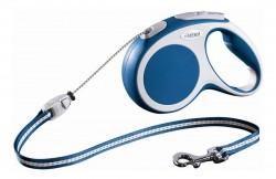 Рулетка-трос FLEXI VARIO M CORD, для собак весом до 20кг, 8м