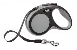 Рулетка-лента FLEXI NEW COMFORT M для собак весом до 25кг, 5м